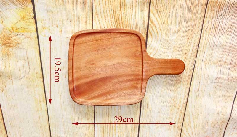 khay gỗ có tay cầm